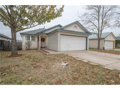 Pflugerville Single Family Home Pending - Taking Backups: 21211 Grand National Ave