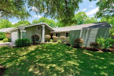 Austin Single Family Home Pending - Taking Backups: 3110 Whitepine Dr