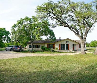 Georgetown Single Family Home For Sale: 3009 Brangus Rd