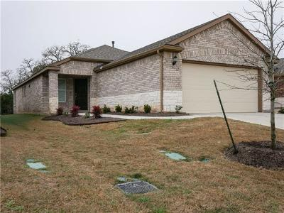 Georgetown Single Family Home For Sale: 106 Brenham Pass
