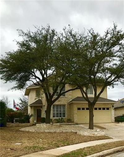Cedar Park TX Single Family Home For Sale: $295,000
