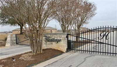 Williamson County Residential Lots & Land For Sale: 635 Heritage Cv