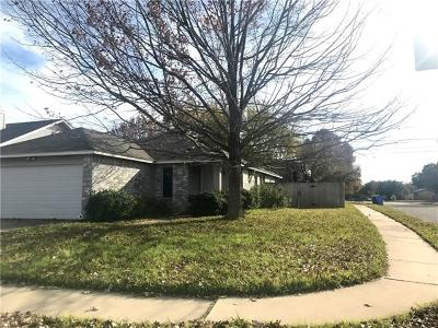 Pflugerville Single Family Home For Sale: 1725 Shire St