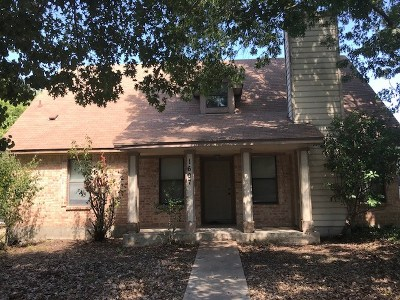 Round Rock Single Family Home For Sale: 1607 Greenlawn Blvd