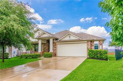 Round Rock Single Family Home For Sale: 1643 Hidden Springs Path