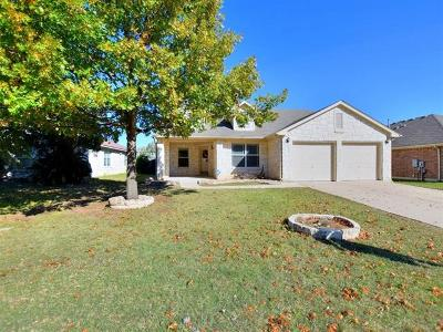 Leander Single Family Home For Sale: 2010 Angelique Ct