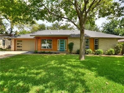 Austin Single Family Home Pending - Taking Backups: 7203 Daugherty St
