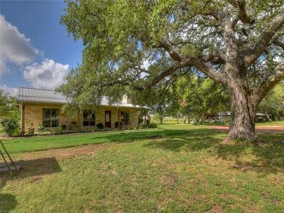 Burnet Single Family Home For Sale: 1455 County Road 200