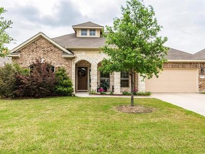 Pflugerville Single Family Home Active Contingent: 17933 Silent Harbor Loop