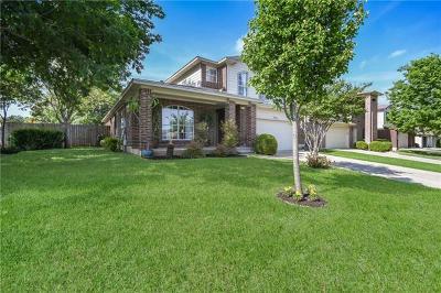 Cedar Park Single Family Home For Sale: 1823 Lloydminister Way