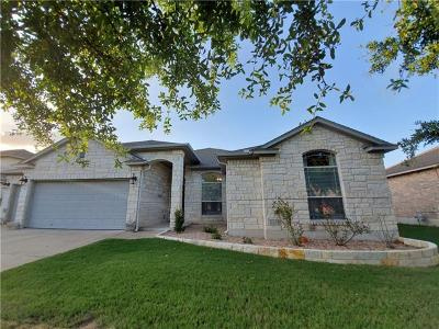 Round Rock Single Family Home Pending - Taking Backups: 2208 Aaron Ross Way