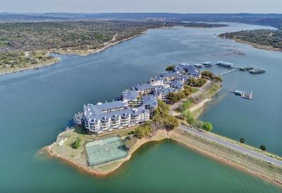 Lago Vista Condo/Townhouse For Sale: 3404 American Dr #2310