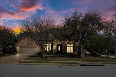 Travis County, Williamson County Single Family Home Pending - Taking Backups: 207 Belgian Bnd