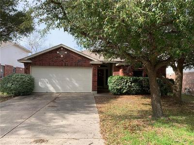 Round Rock Single Family Home For Sale: 2203 Ada Ln