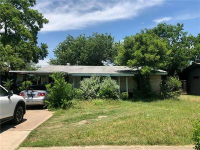 Austin Single Family Home For Sale: 1100 W Oltorf St