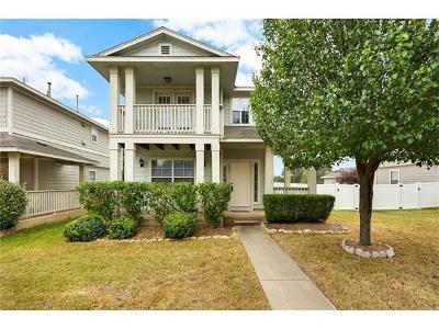 Cedar Park Single Family Home Pending - Taking Backups: 400 Bull Creek Pkwy #3