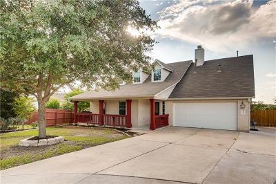 Leander Single Family Home For Sale: 1205 Drake Cv