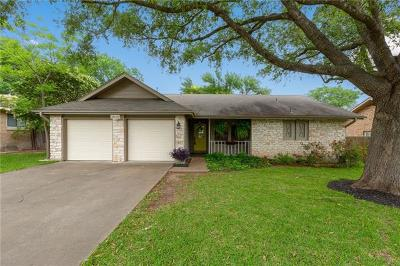 Pflugerville Single Family Home For Sale: 1610 Dove Haven Dr