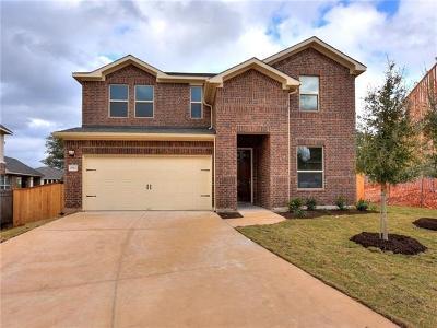 Leander Single Family Home For Sale: 2312 Abilene Ln