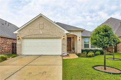 Leander Single Family Home Active Contingent: 2313 Yaupon Range Dr