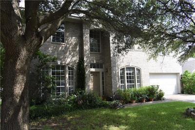 Round Rock Single Family Home Pending - Taking Backups: 8214 Miller Falls Dr