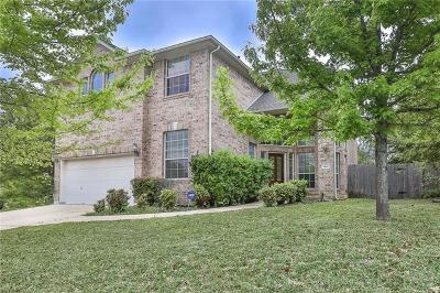 Cedar Park Single Family Home For Sale: 3101 Cashell Wood Dr