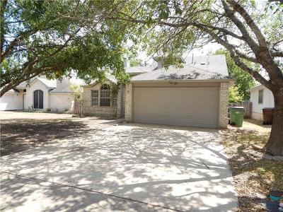 Round Rock Single Family Home For Sale: 1403 Hollow Tree Blvd