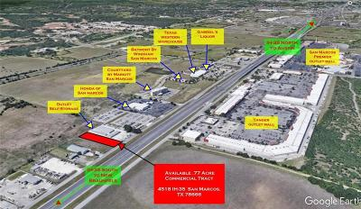 San Marcos Residential Lots & Land For Sale: 4518 Interstate 35