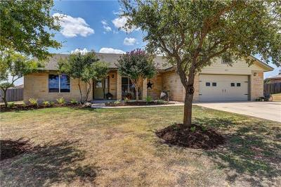 Jarrell Single Family Home For Sale: 313 Meadow Valley Loop