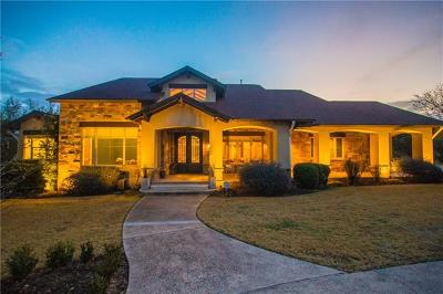 Dripping Springs Single Family Home For Sale: 12200 Triple Creek Dr