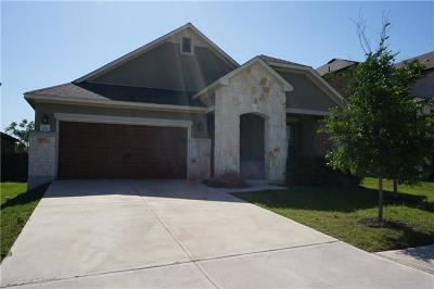 Leander Single Family Home For Sale: 1137 Yellow Iris Rd