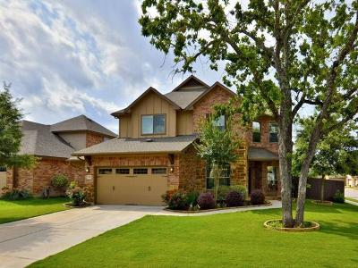 Round Rock Single Family Home For Sale: 3901 Sapphire Loop