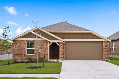 Round Rock Single Family Home For Sale: 6860 Brindisi