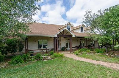 Dripping Springs Single Family Home Pending - Taking Backups: 12112 Triple Creek Dr