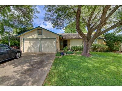 Round Rock Single Family Home For Sale: 1404 Beth Ln