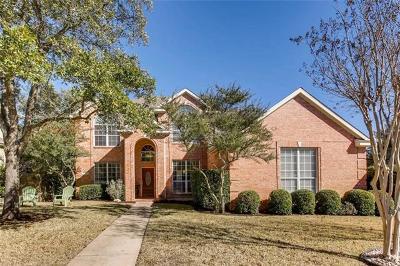 Austin Single Family Home For Sale: 12408 Fairfax Ridge Pl