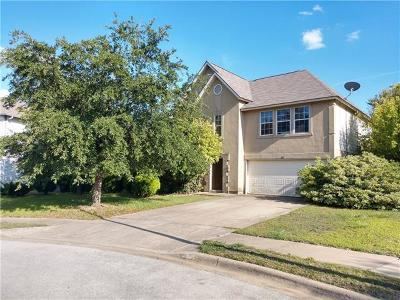 Round Rock Single Family Home For Sale: 805 Cisco Valley Cv