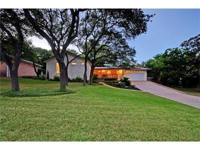 Single Family Home For Sale: 5000 Balcones Dr