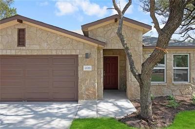 Lago Vista Single Family Home For Sale: 21715 Crystal Way