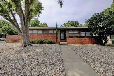 Travis County Single Family Home Pending - Taking Backups: 1801 Aggie Ln