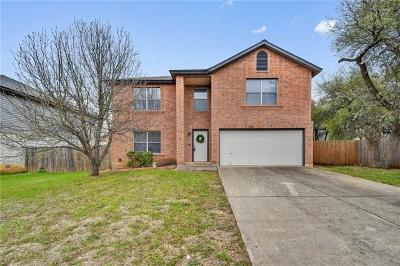 Cedar Park Single Family Home Pending - Taking Backups: 1308 Rosie Ln