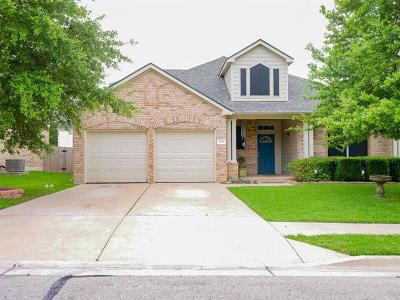 Pflugerville Single Family Home Pending - Taking Backups: 20844 Silverbell Ln