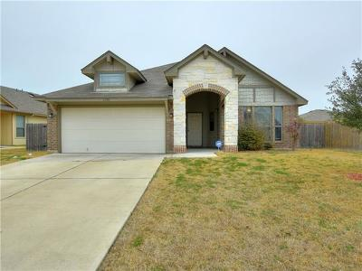 Manor Single Family Home Pending - Taking Backups: 12916 Carillon Way