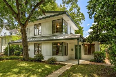 Zilker, Rabb Inwood Hills, West End Add, Barton Spgs Heights, Barton Terrace Condo, Stoval, Geo H, Barton Heights A, Barton Heights B, Barton Heights B Annex, Sun Terrace, South Lund South Single Family Home Pending - Taking Backups: 2106 Peach Tree St