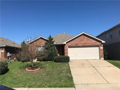 Round Rock Single Family Home For Sale: 1008 Zeus Cir