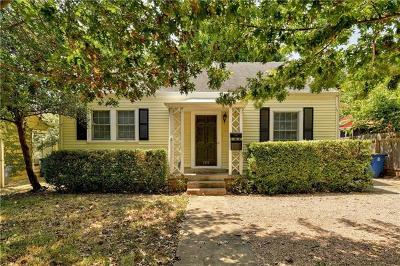 Austin Single Family Home For Sale: 1519 W 31st St