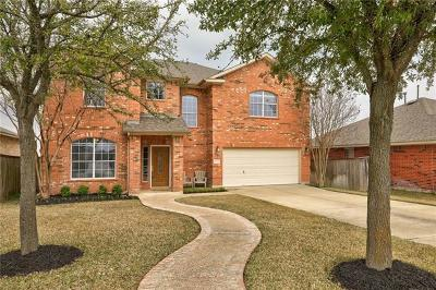 Round Rock Single Family Home Pending - Taking Backups: 4513 Heritage Well Ln