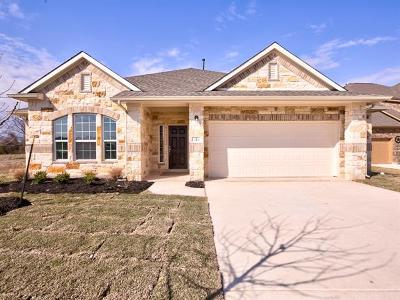 Leander Single Family Home For Sale: 549 Middle Brook Ln