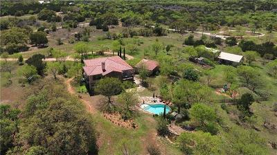 Burnet Single Family Home For Sale: 1400 Rocky Hollow Dr