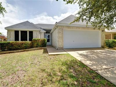 Leander Single Family Home For Sale: 1510 Greening Way